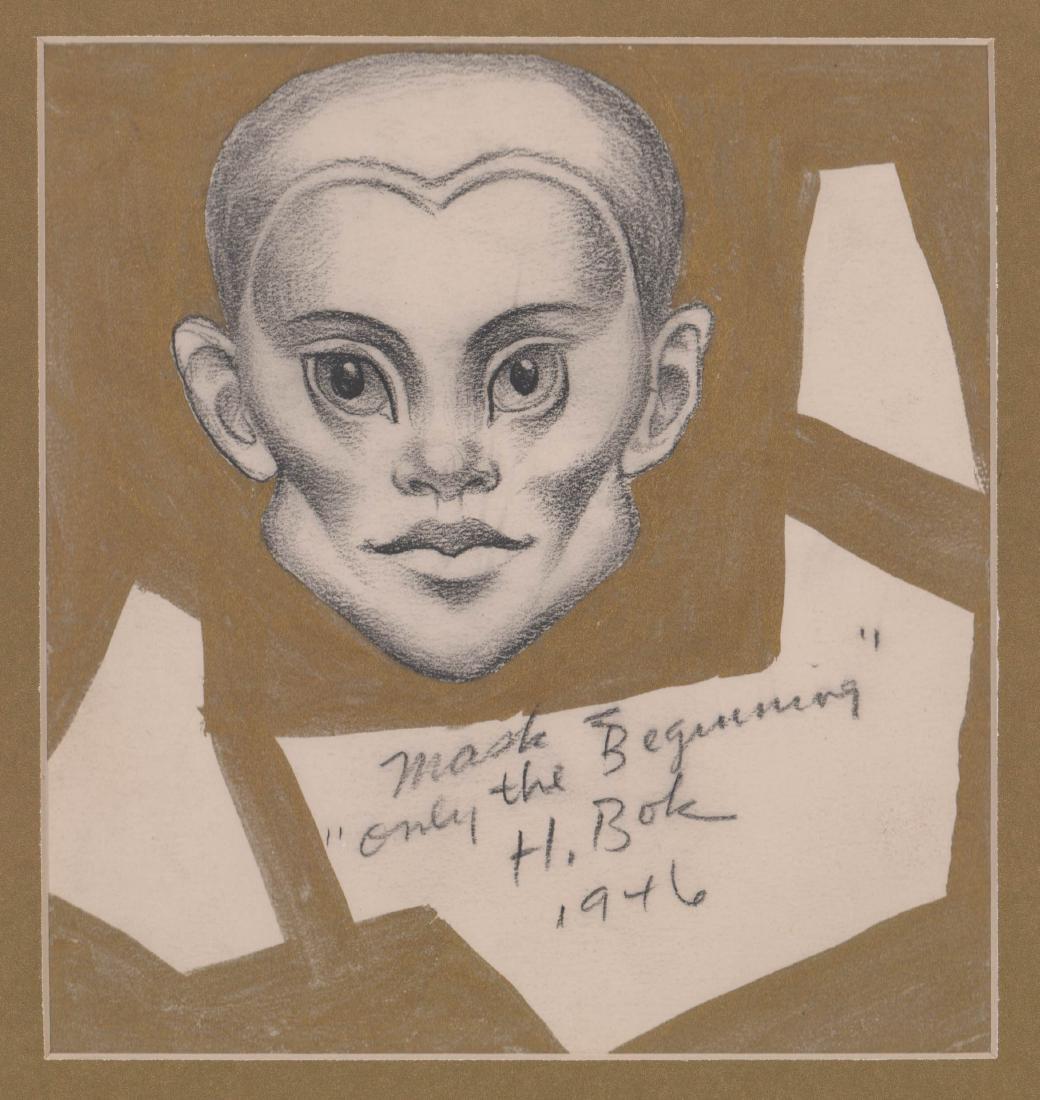 "Hannes ""Hans"" Bok Original Art"