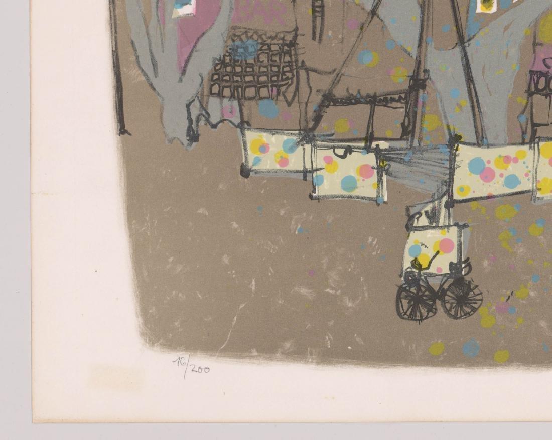 Marco Richterich (1929 - 1997) Signed Lithograph - 4