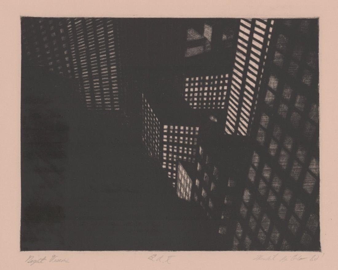 Michael Di Cerbo Etching [Night Visions]