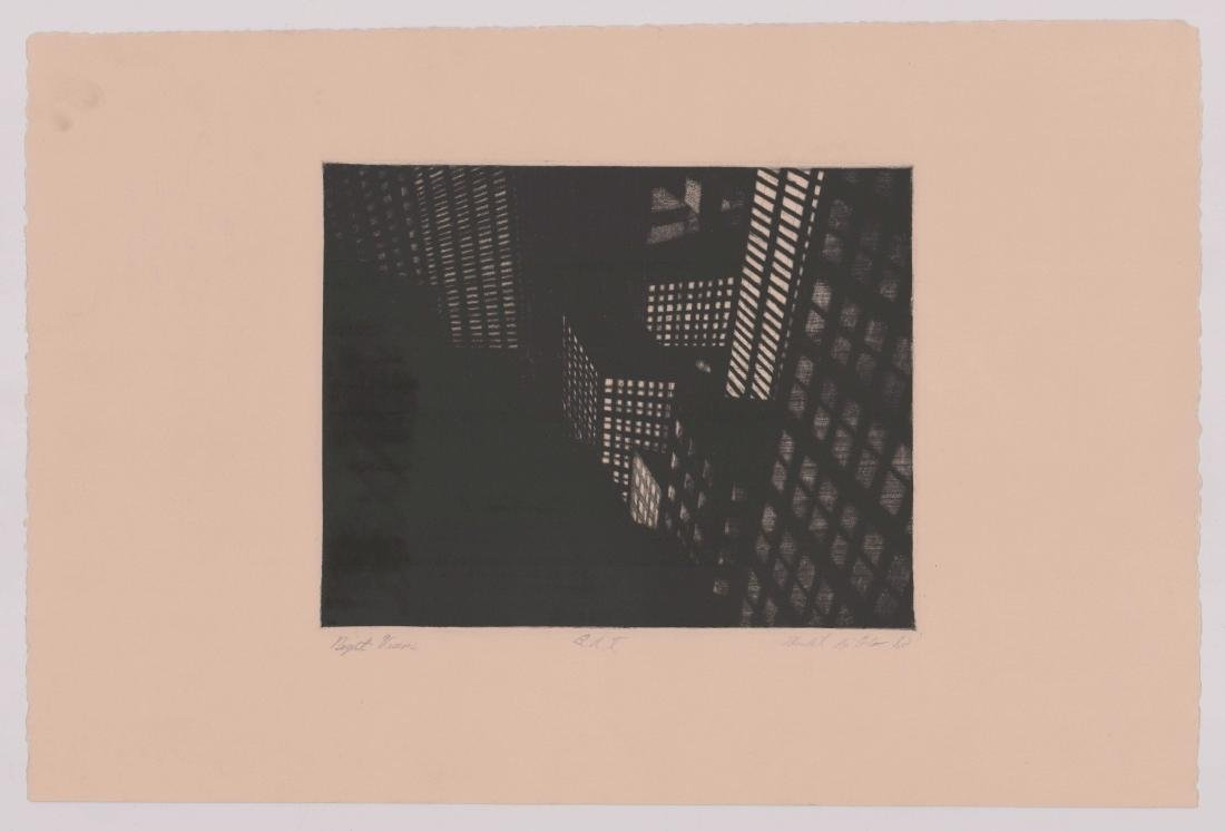 Michael Di Cerbo Etching [Night Visions] - 2