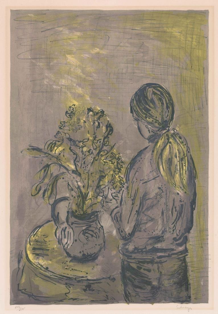 Greta Schreyer Lithograph
