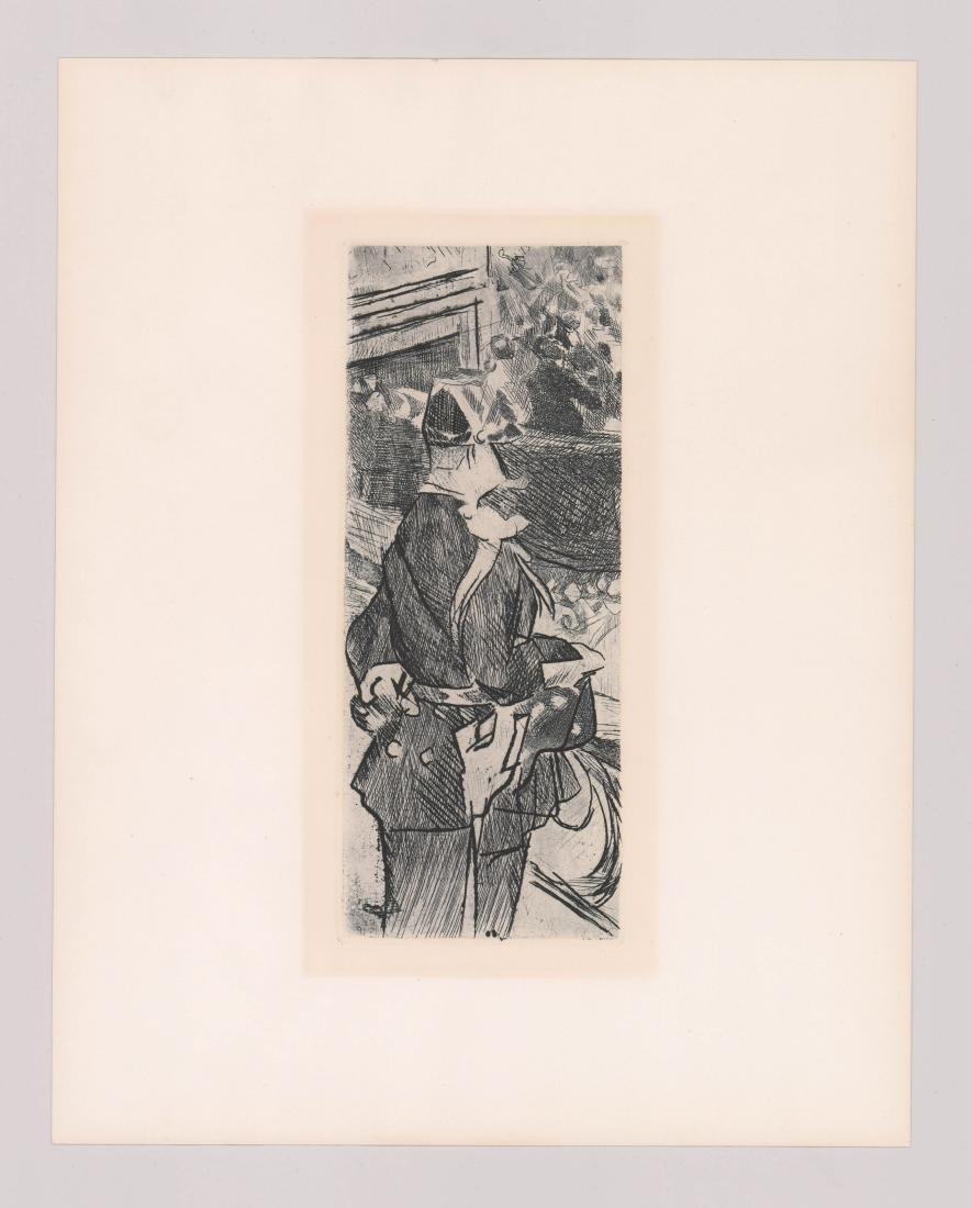 Jacques Villon Etching [Fete Champetre] - 2