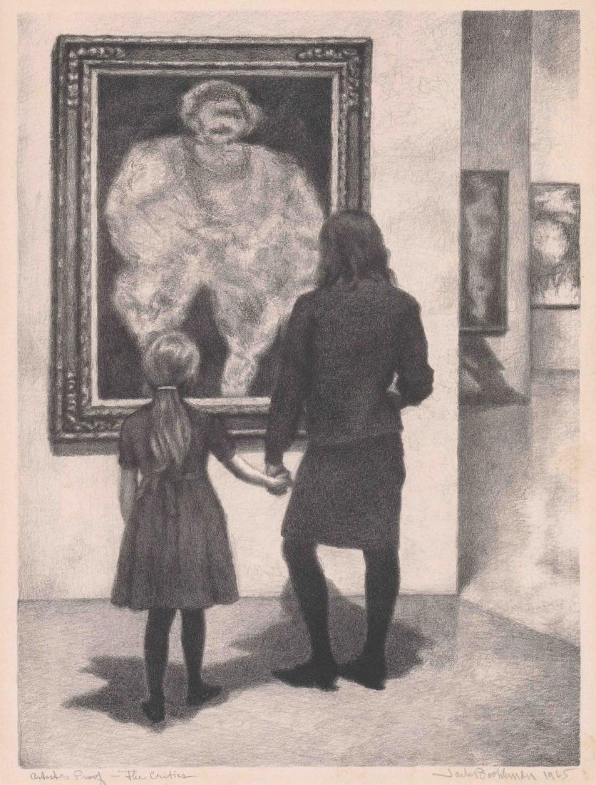 Jack Bookbinder Artist's Proof Lithograph