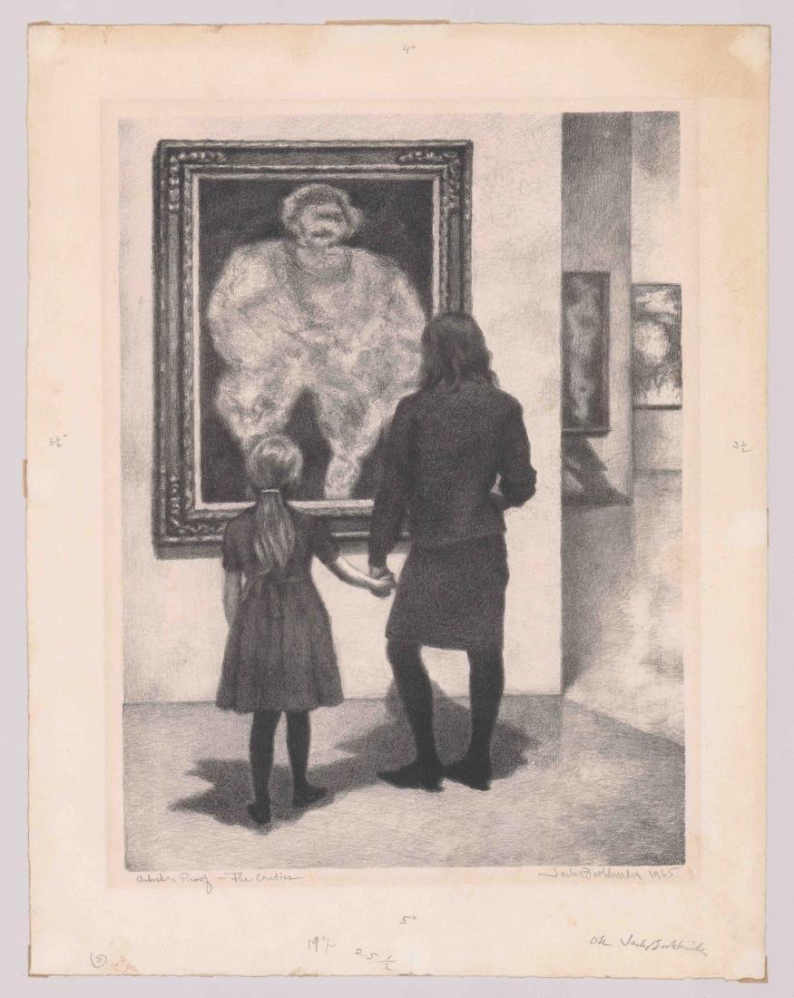 Jack Bookbinder Artist's Proof Lithograph - 2