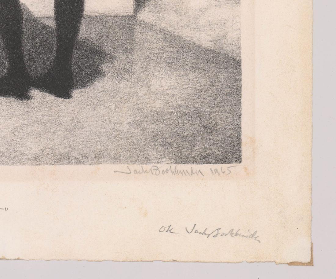 Jack Bookbinder Artist's Proof Lithograph - 3