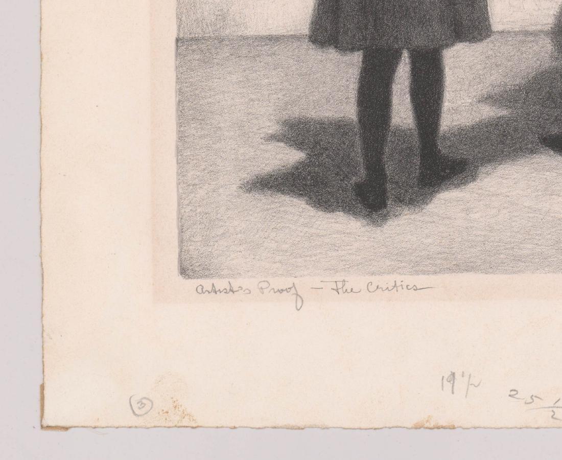 Jack Bookbinder Artist's Proof Lithograph - 4