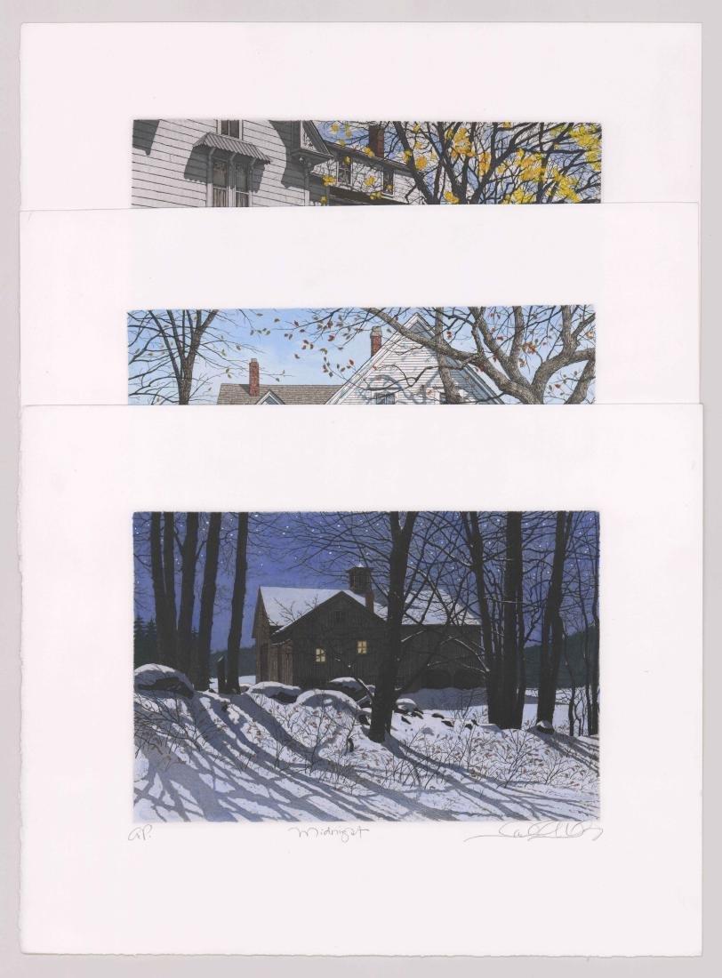 Carol Collette Etchings, Three