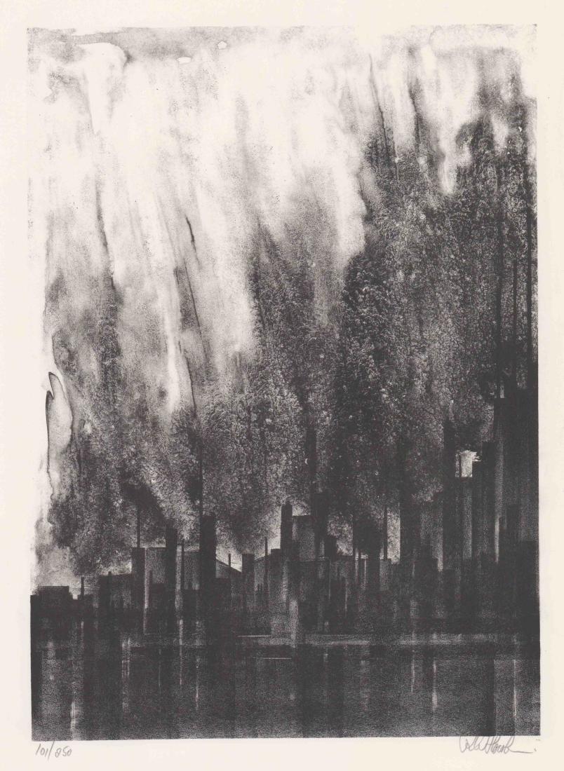 Richard Florsheim Lithograph