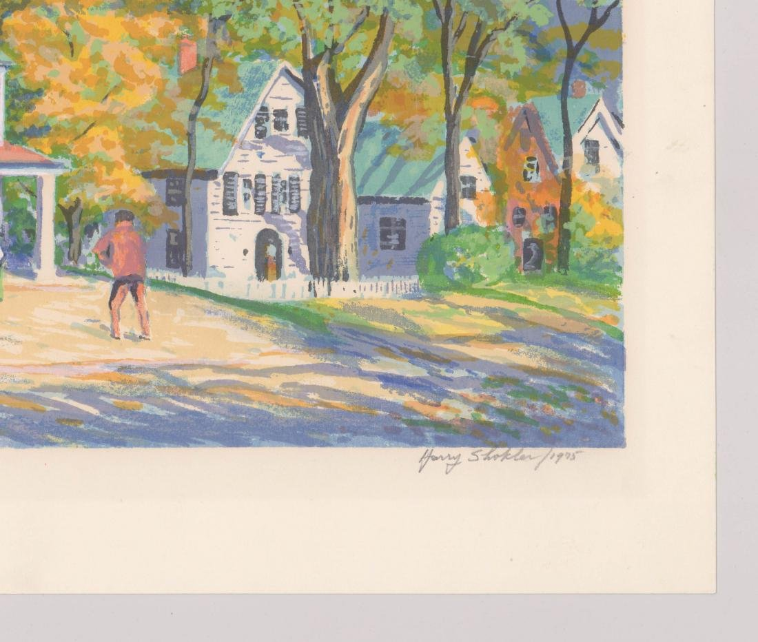 Harry Shokler Signed Serigraph [Grafton Post Office - 4