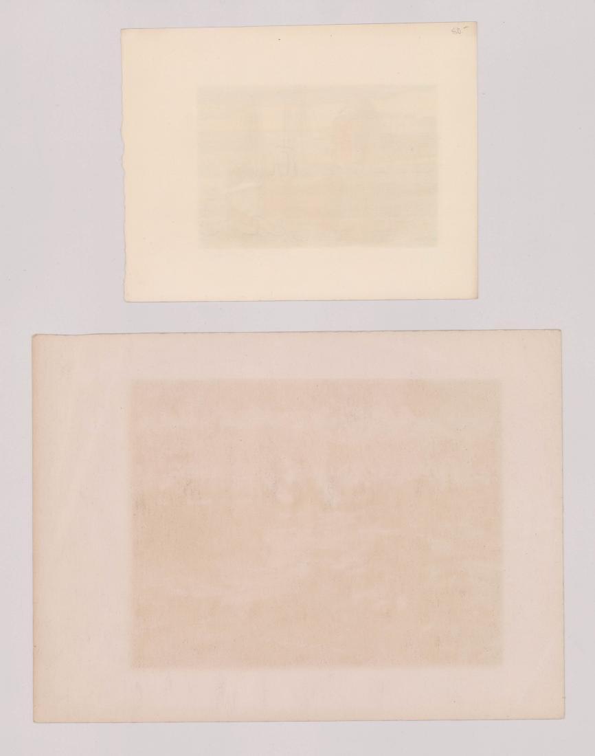 Harry Shokler Serigraphs, Two - 2