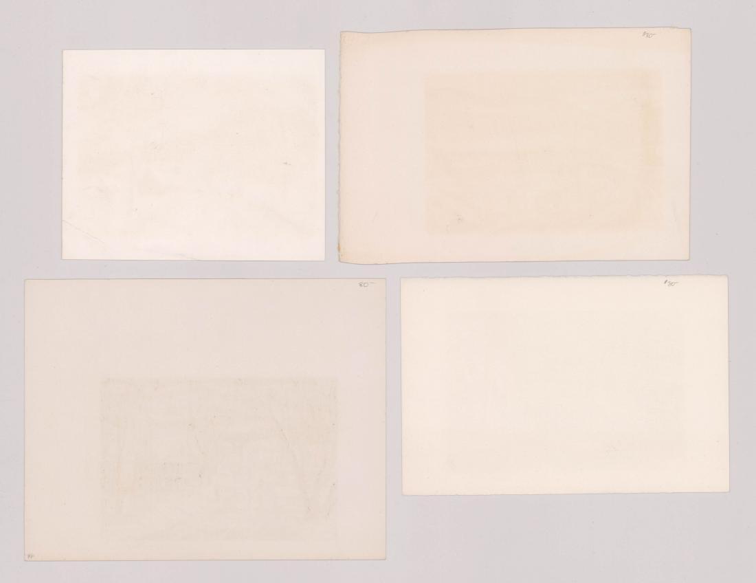 Harry Shokler Serigraphs, Four - 2