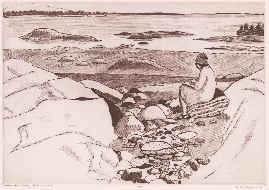 Howard Fussiner Lithograph