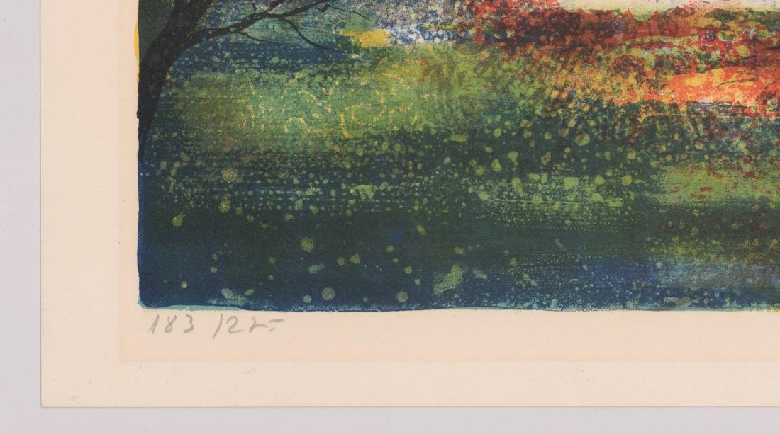 Mid-Century Signed Lithograph - 3
