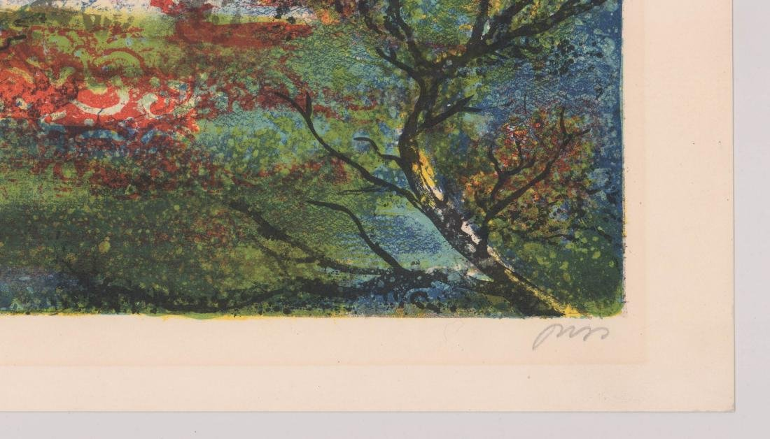 Mid-Century Signed Lithograph - 4