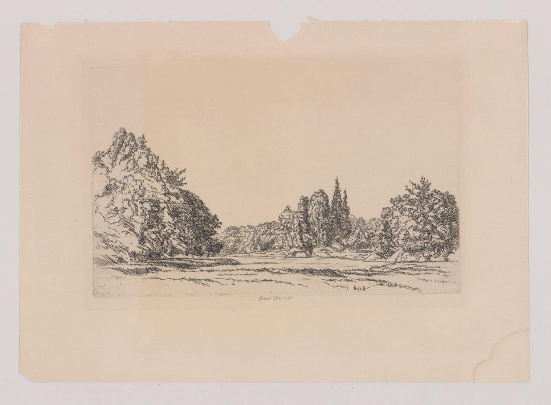 Ernest Haskell (1876-1925) Etching - 2