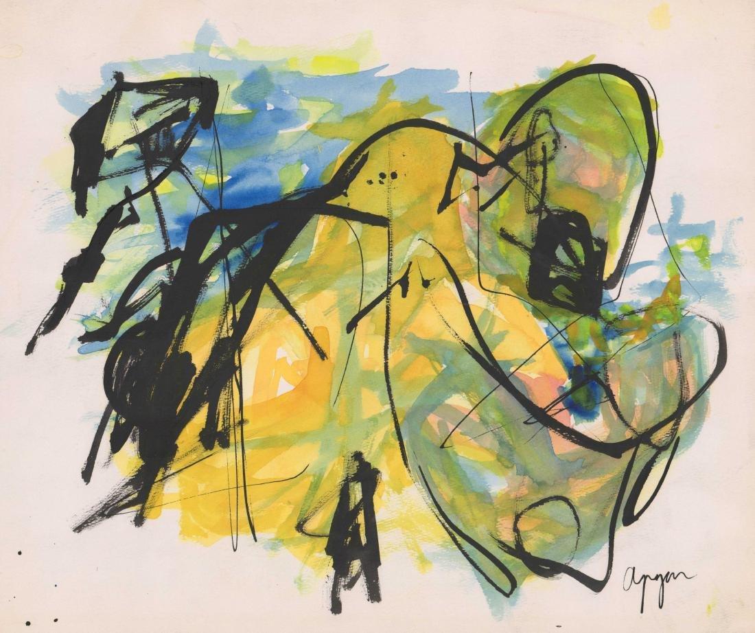 Nicolas Adam Apgar (born 1918) Original Art