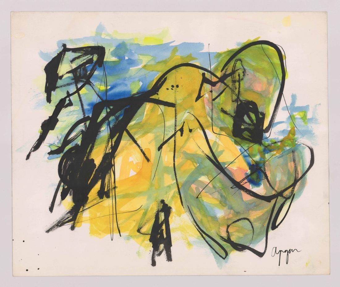 Nicolas Adam Apgar (born 1918) Original Art - 2