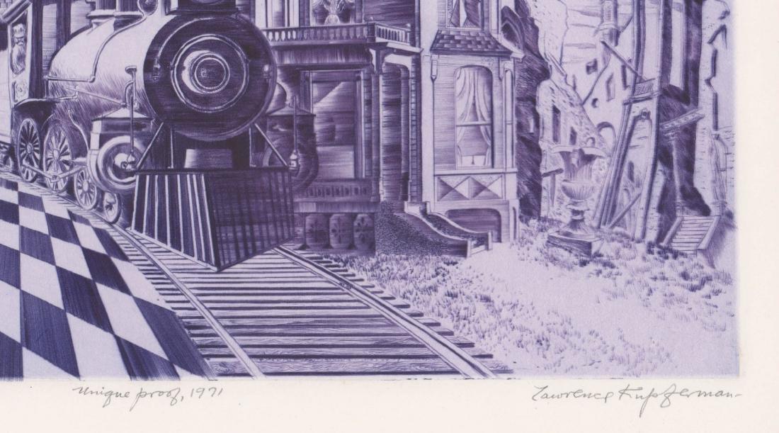Lawrence Kupferman Etching - 4