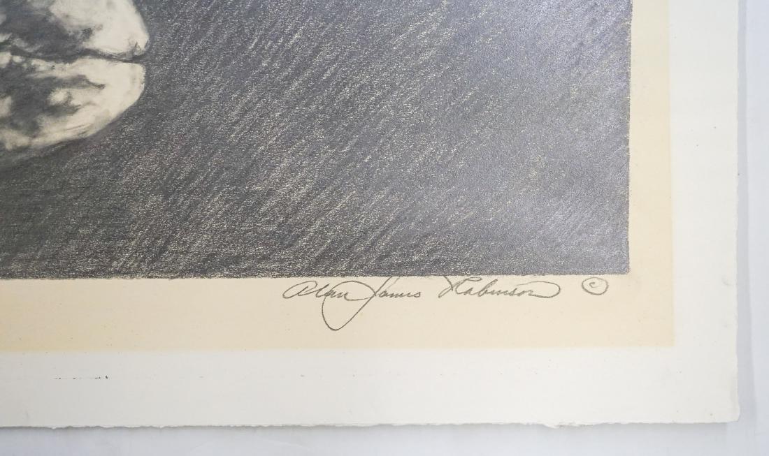 Alan James Robinson Original Art [Gray Whale] - 3