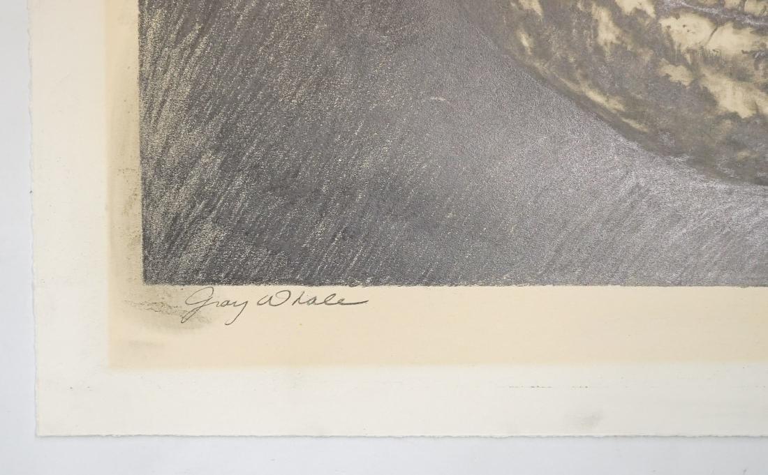 Alan James Robinson Original Art [Gray Whale] - 4