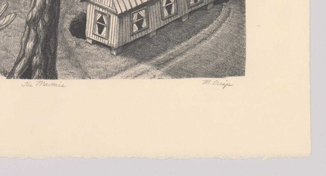 Margie Crisp (Texas) Lithograph - 3