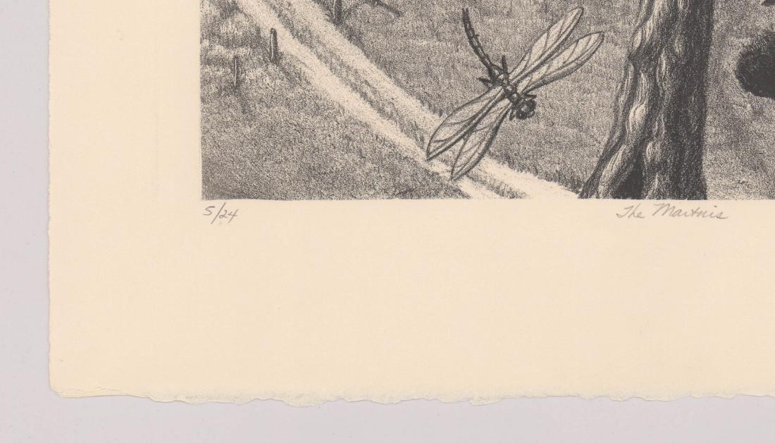 Margie Crisp (Texas) Lithograph - 4