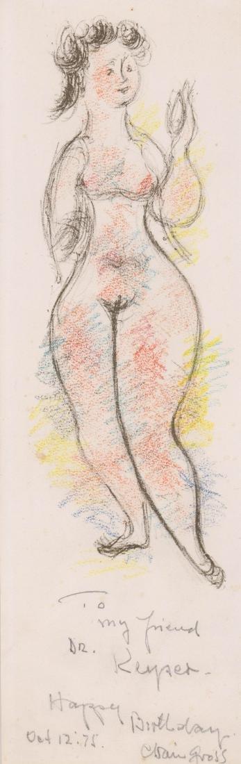 Chaim Gross Original Art