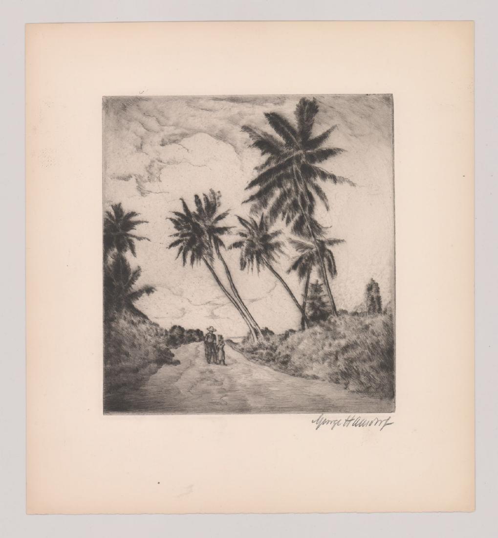 George Hausdorf (New York 1888-1959) Etching - 2
