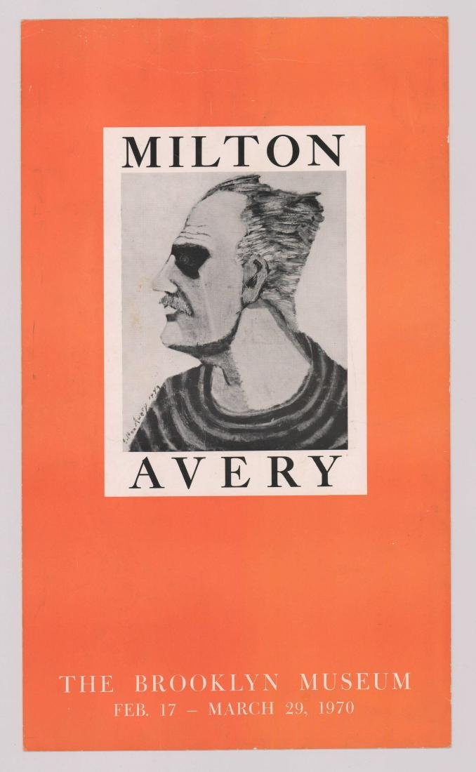 Milton Avery Brooklyn Museum Exhibition Poster