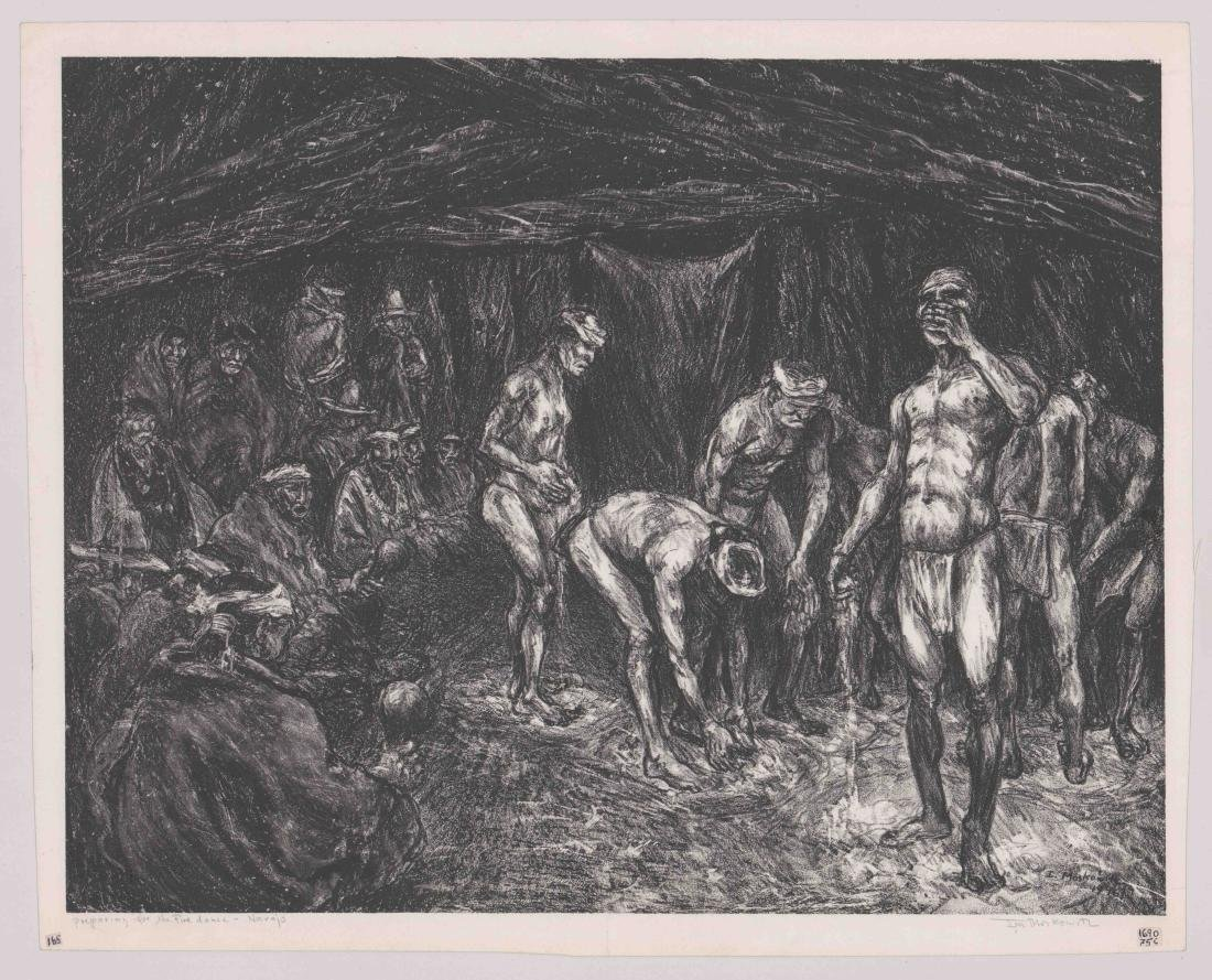 Ira Moskowitz Signed Lithograph - 2