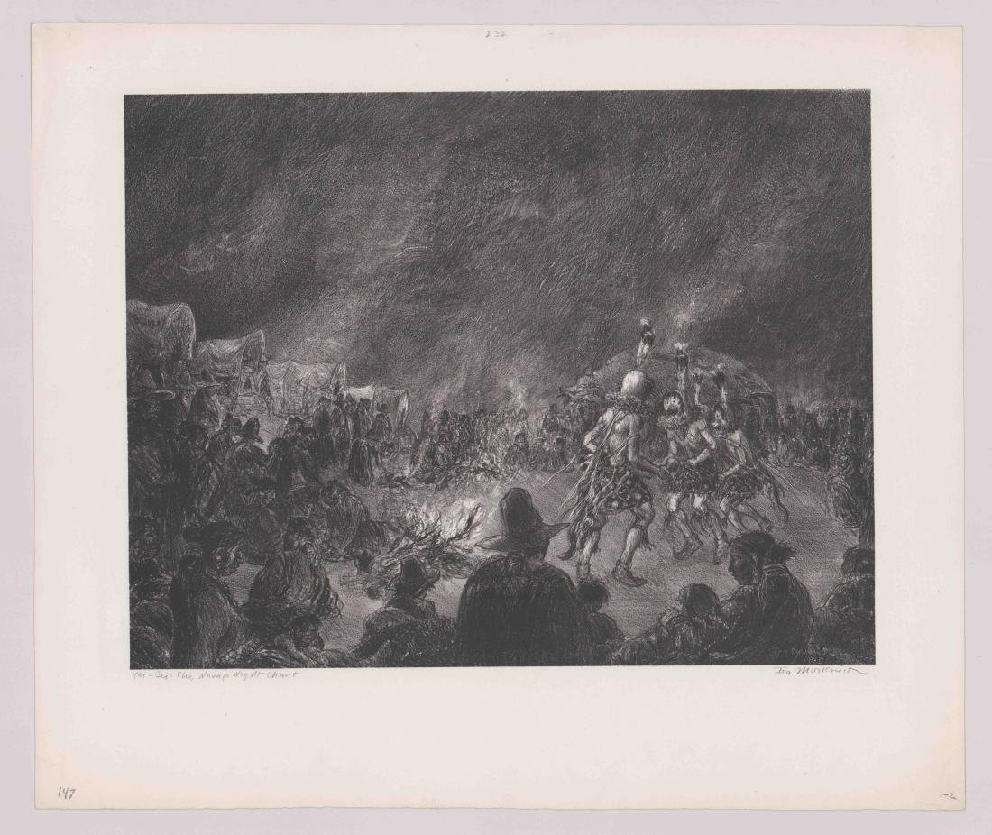 Ira Moskowitz Lithograph - 2