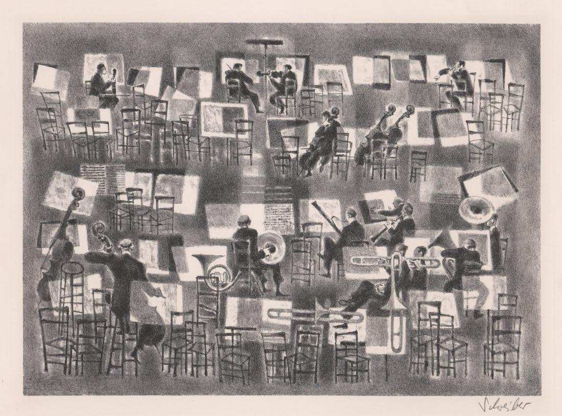 Georges Schreiber Lithograph