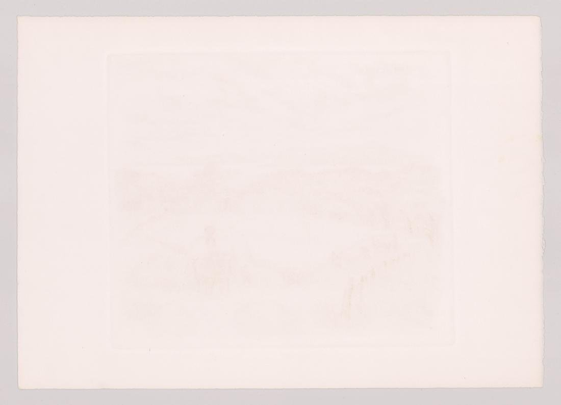 Ira Moskowitz Artist Proof Etching - 5