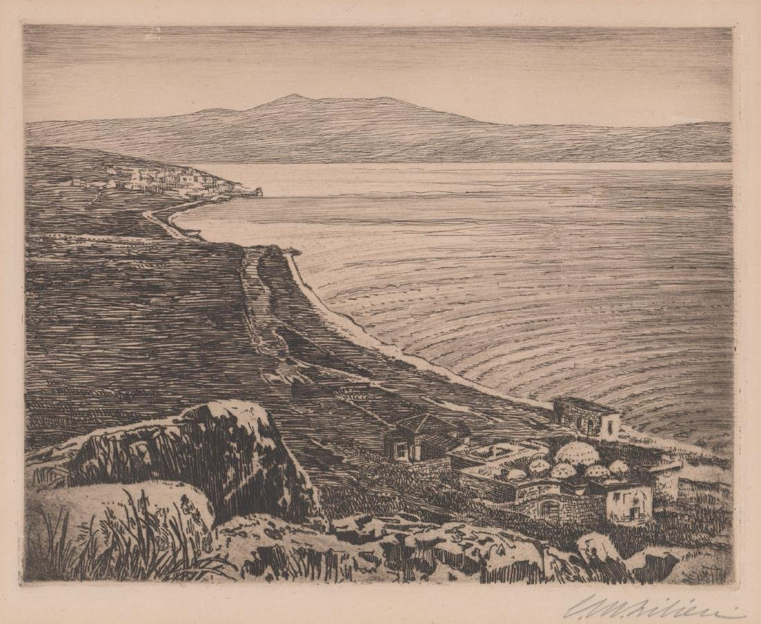 Ephraim Moses Lilien Etching