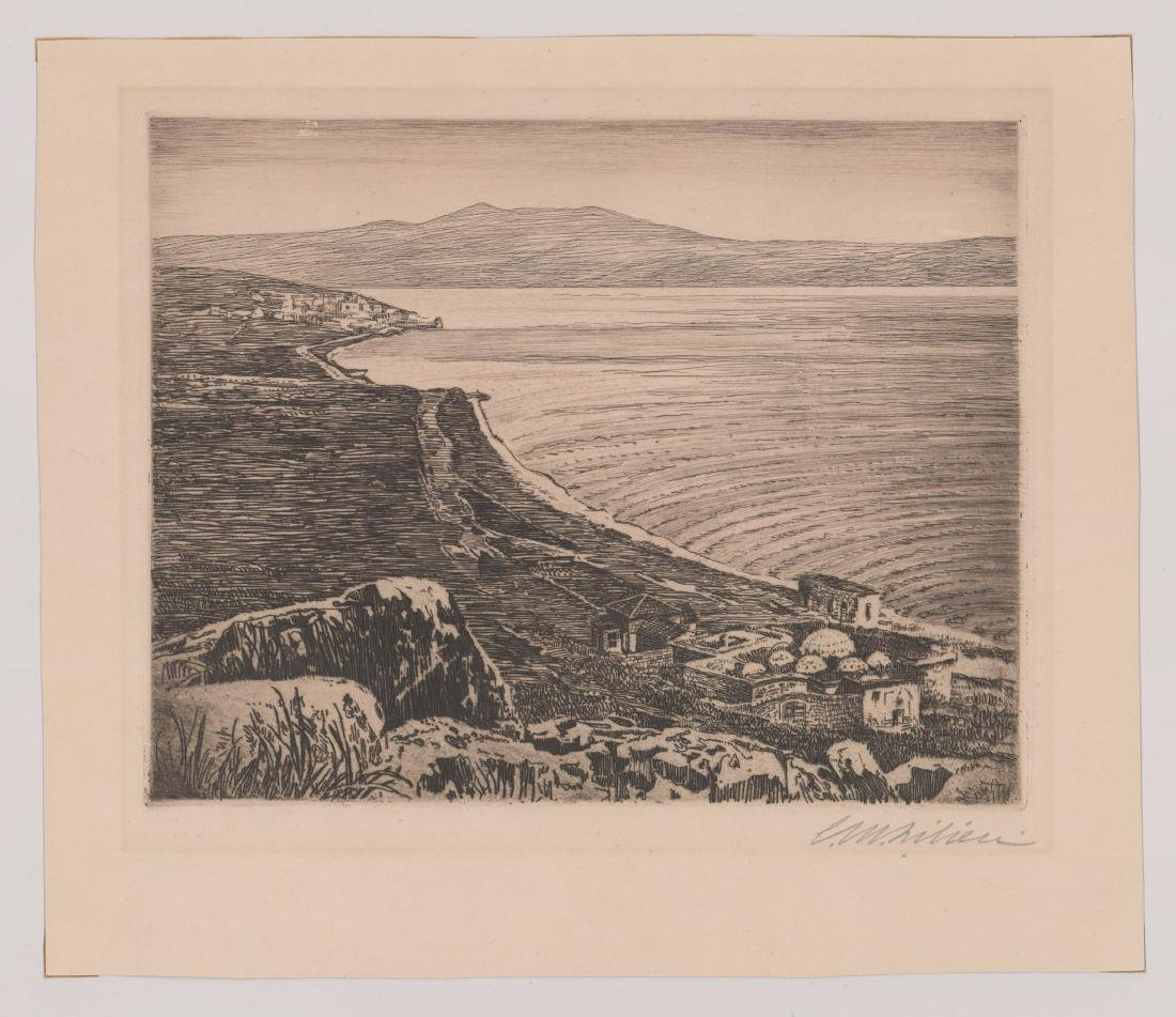 Ephraim Moses Lilien Etching - 2