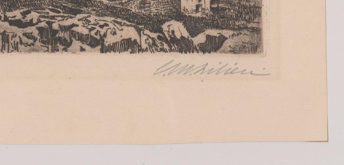 Ephraim Moses Lilien Etching - 3