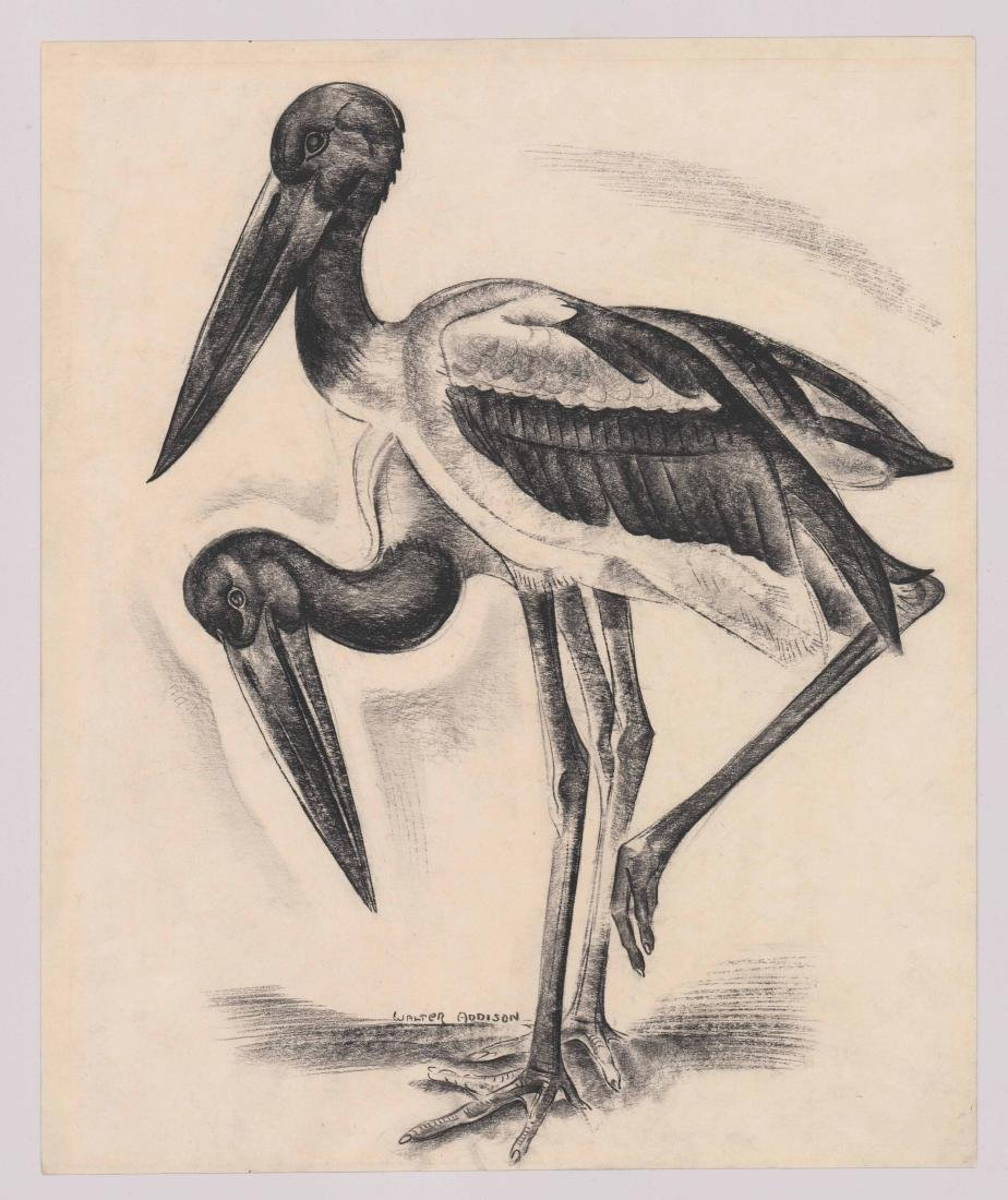 Walter Addison (American 1914-1982) Original Art - 2