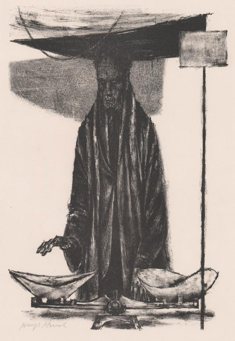 Joseph Hirsch Lithograph