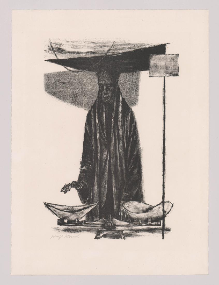 Joseph Hirsch Lithograph - 2