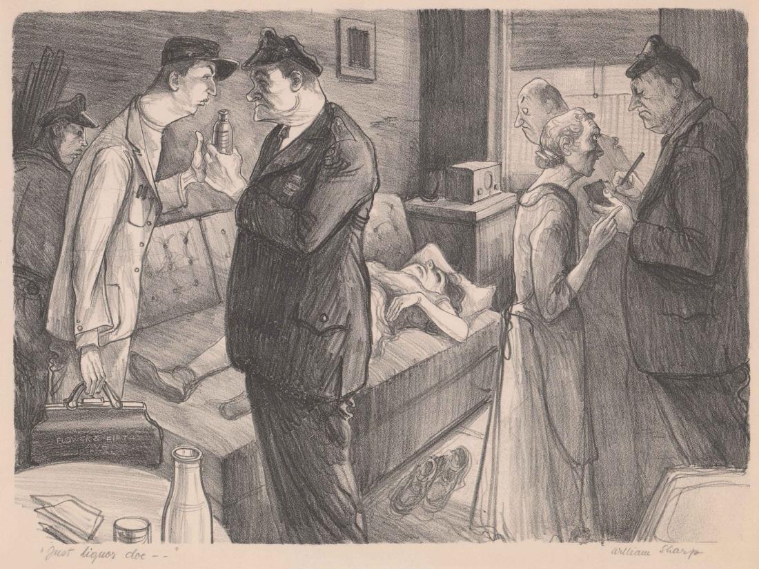 William Sharp Lithograph