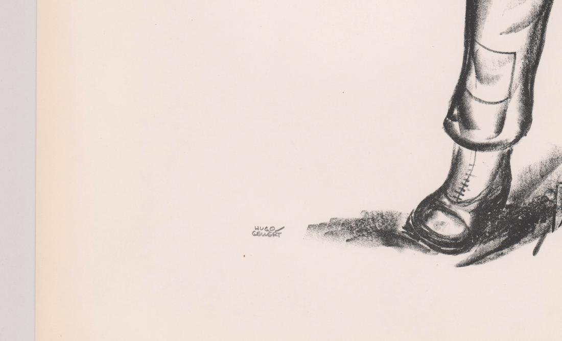 Hugo Gellert Signed Lithograph - 3