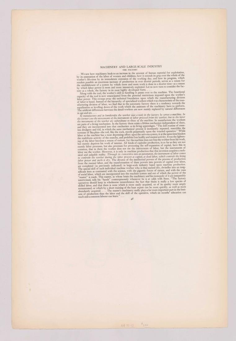 Hugo Gellert Signed Lithograph - 4