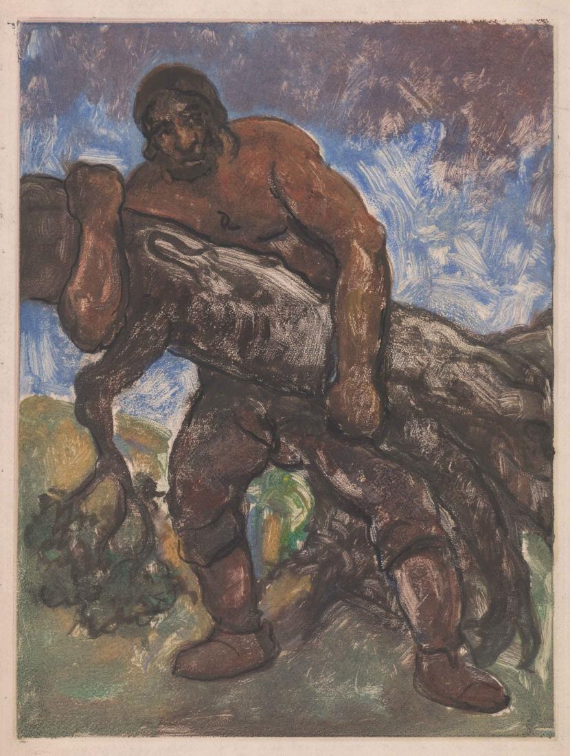 Eugene Higgins Monotype