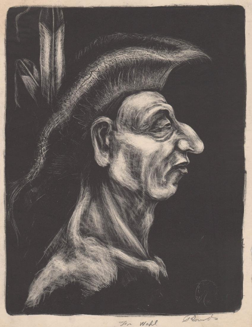 Theodore Wahl Lithograph