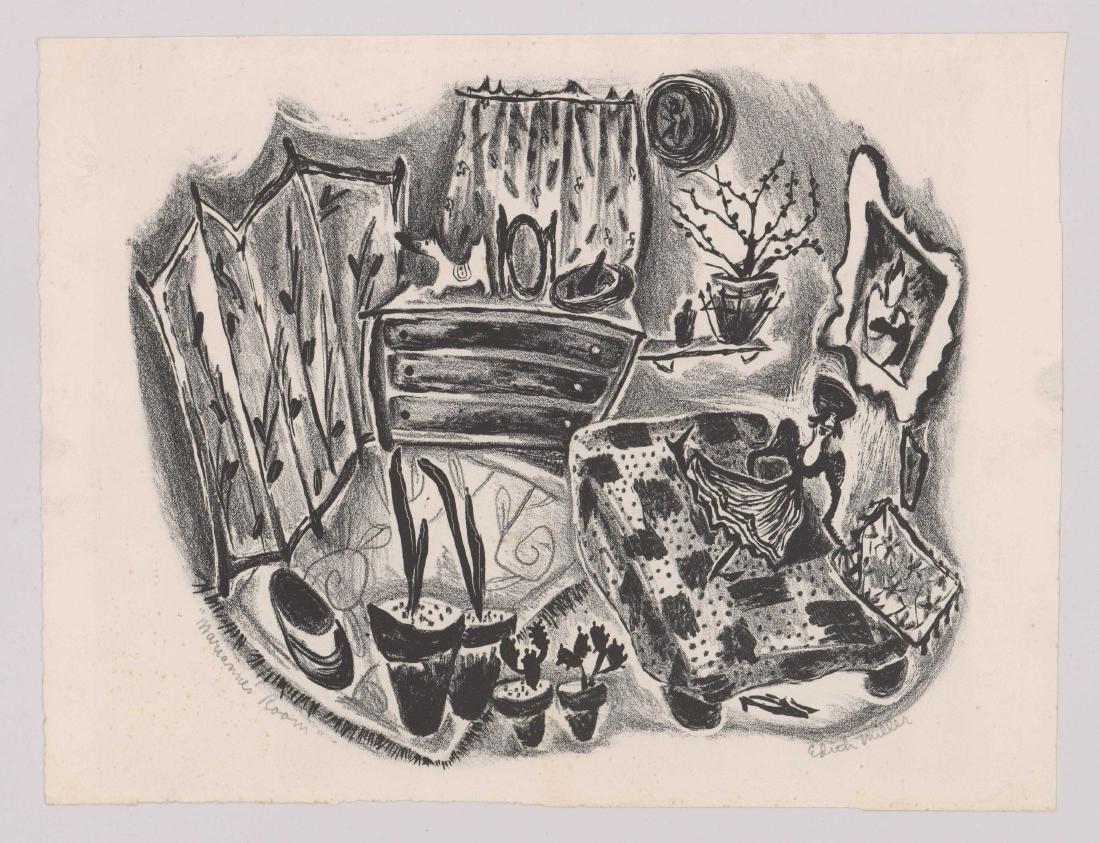 Edith Miller Lithograph - 2