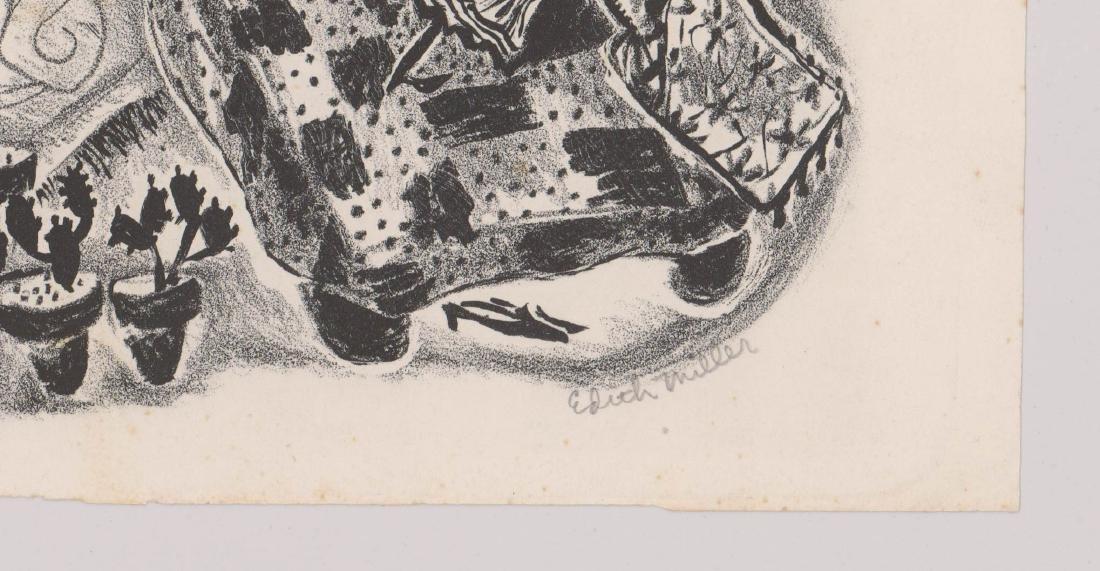 Edith Miller Lithograph - 3