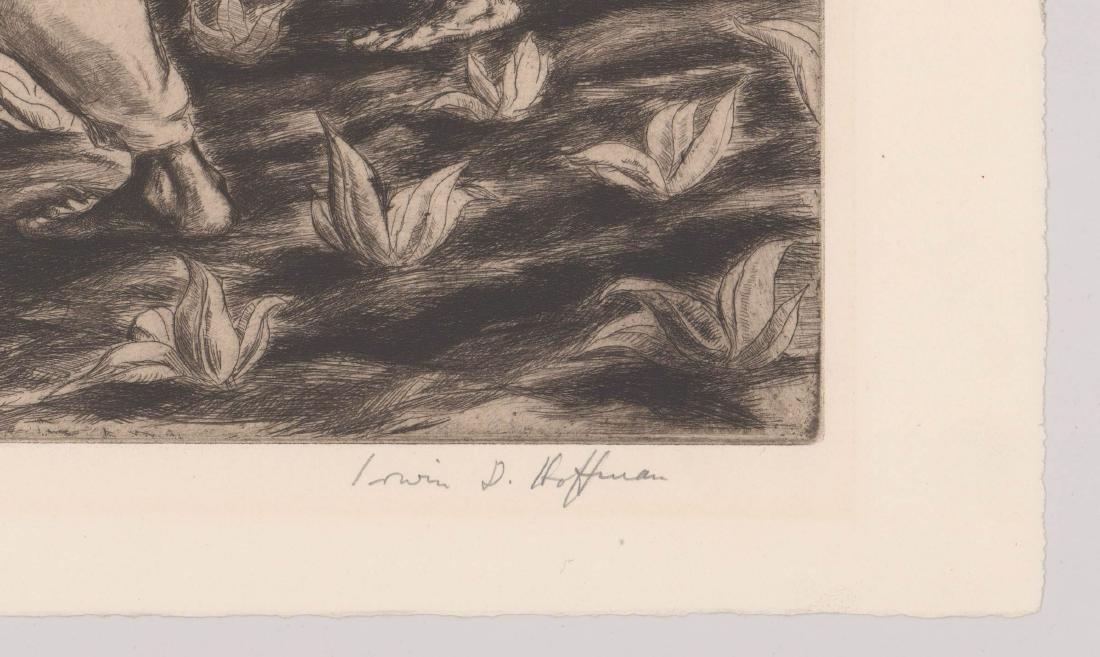 Irwin Hoffman Etching - 3