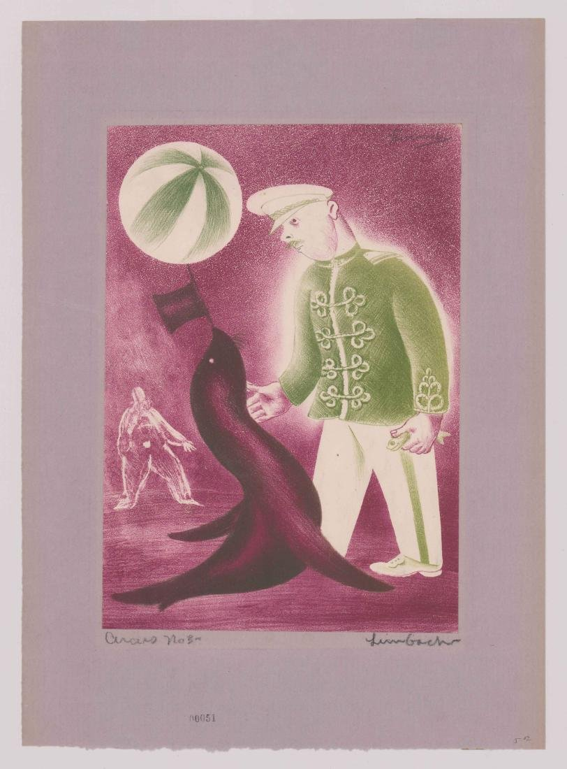 Russell Limbach Lithograph - 2