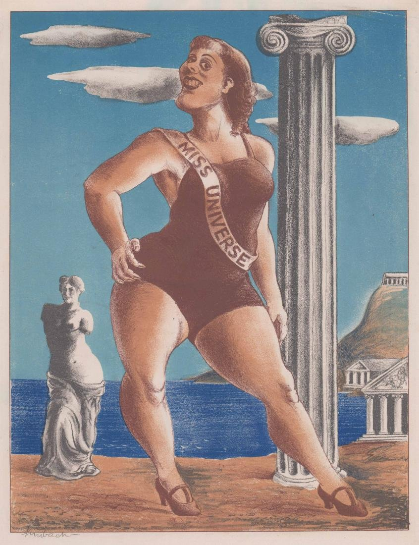 Russell Limbach Lithograph [Miss Universe]