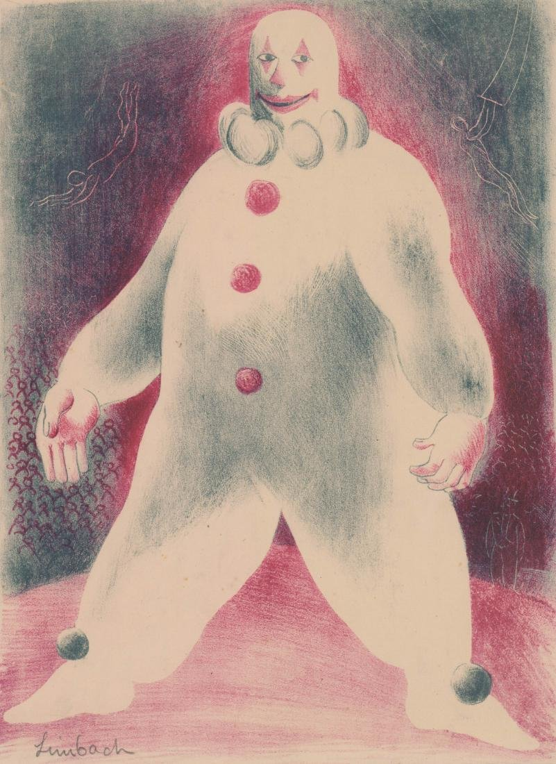 Russell Limbach Lithograph